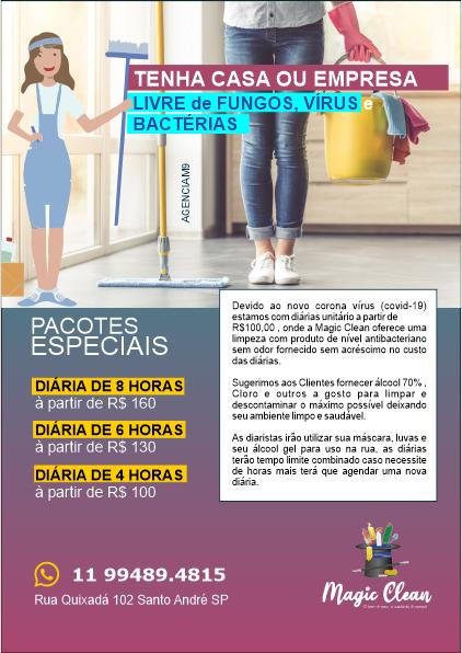 Serviço de Limpeza e Diarista em Santo André SP
