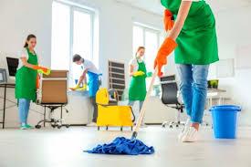 Sobre a Prestação de Serviço de Limpeza